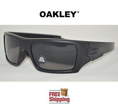 891b676743 Oakley® Sunglasses Det Cord Industrial Ansi Safety Approved Matte Black W   Tint