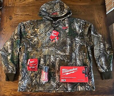 Milwaukee 2383 XL Heated Hoodie Kit M12 CAMO NEW NEVER Used