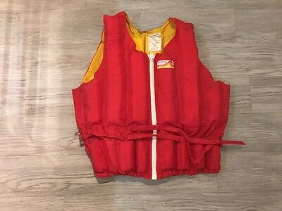 Harishok Bouancy Aid Red And Yellow Ideal For Sailing Not A Life Jacket Large