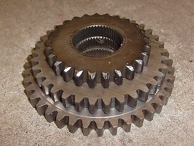 Vintage Industrial Machine Age Decor Lot of Steel Gears Steampunk Altered Art NR