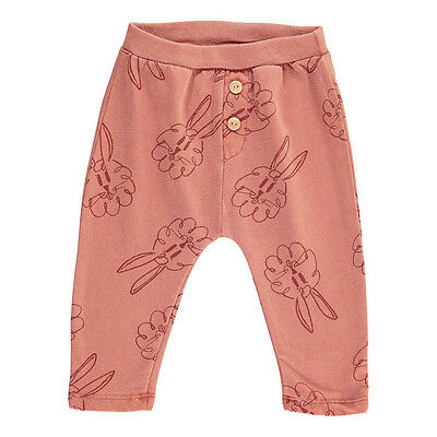 Bobo Choses New Boutique Designer Bunny Track Trousers Pants 18-24 Nwt
