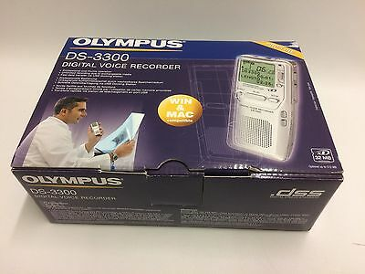 Olympus DS-3300 Digital Voice Recorder NOS