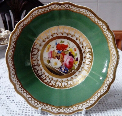 Antique, Hand Painted With Flowers, Lovely Little Dish