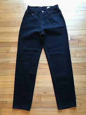 Vtg | JORDACHE JEANS | BLACK | 1980s/90s | High Waist | Mom Jeans | Womens 11/12
