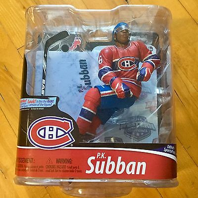 McFarlane PK Subban Figure NHL Series 28 Hockey Montreal Canadiens Sealed New