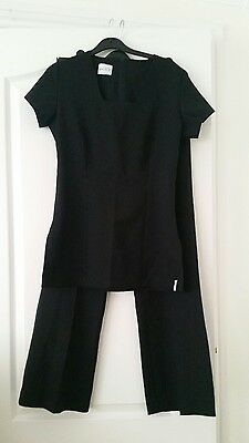 Florence Roby Uniform Beauty Tunic & Trousers black size 8