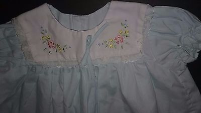 Vintage baby clothes , baby girl dress size 6-12 month, Beautiful Dress