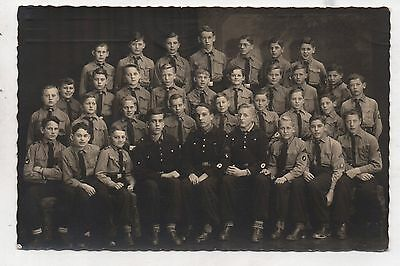 Original Period German Ww2 Photo-Group Photo-Youths 1941-Description