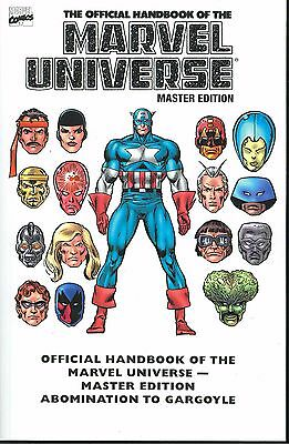 Official Handbook Of The Marvel Universe Master Edition Vol 1 Tpb Graphic Novel