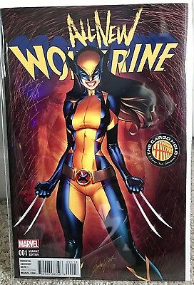 All-New Wolverine #1 J. Scott Campbell Tch Color Variant Nm X-23 Hot!