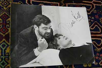 Diana Rigg Signed Photograph