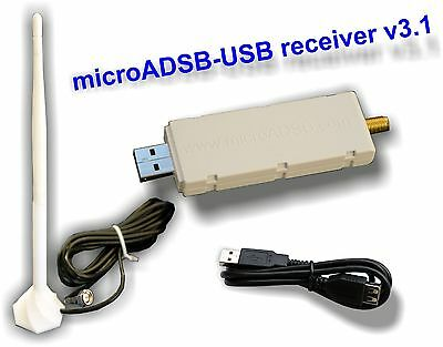micro ADSB USB ADS-B receiver flightradar 24 comp - Great gift for aviator mate