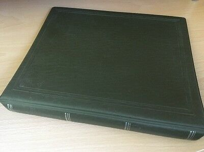 Stanley Gibbons Multo 22 Ring Stamp Album (Olive Green)