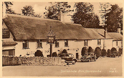 """yarcombe Inn. Yarcombe""  Old Frith's Postcard   Devon"