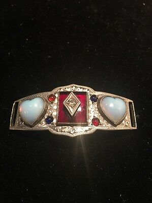 Rare Vintage Jewelry Multi Gemstone Piece