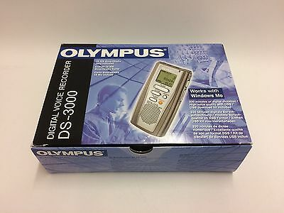 Olympus Digital Voice Recorder DS-3000 used