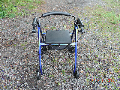 Drive 4 Wheeled Braked Mobility Walking Aid