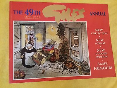 Giles annual cartoons forty-nineth (49th) series , published 1995
