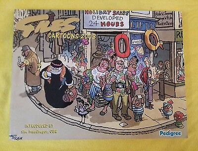 Giles Annual Cartoon Book Pedigree 56th series 2003 compilation of various years