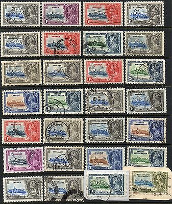 Kgv  1935  Jubilee  Used Accumulation