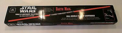 Star Wars Master Replicas Darth Maul Force FX Lightsaber Double Bladed **NEW**