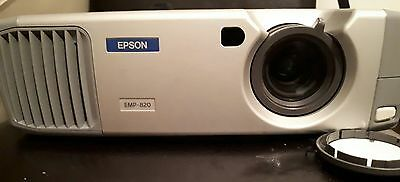 **REDUCED** Epson EMP 810  UG Projector with case and  leads 683 lamp hours used