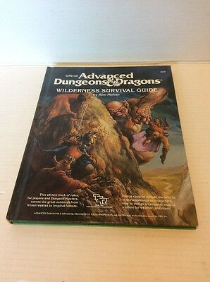 Advanced Dungeons and Dragons: Wilderness Survival Guide HC TSR2020 AD&D