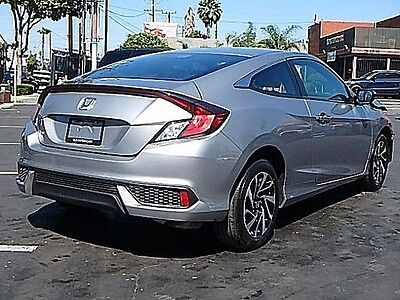 2016 Honda Civic LX-P Coupe 2016 Honda Civic LX-P Coupe Wrecked Clean Title Only 14K Mi Perfect Project L@@K