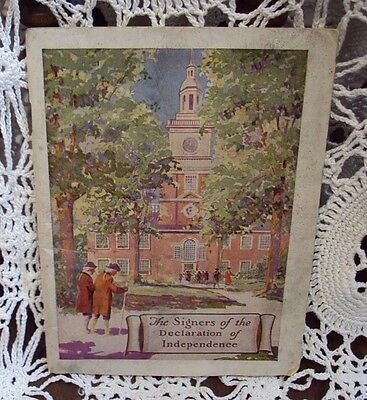 Vtg Prudential Insurance CO of America SIGNERS OF DECLARATION OF INDEPENDENCE