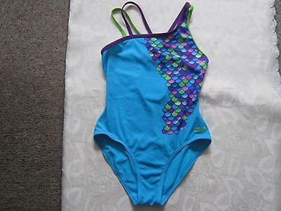 Zoggs turquoise swimsuit, size 32 ins, exc condition