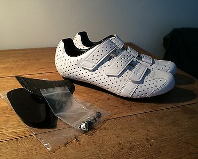Rapha Climbers Shoes - Size 43 - White *Mint Condition*