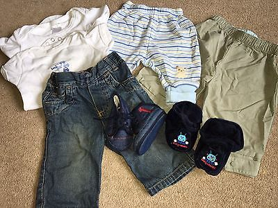 Baby Boys Clothes 0-3 Months Bundle
