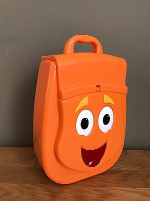 Go Diego Go Rescue Pack Orange Talking Backpack with Sounds RARE **WD19