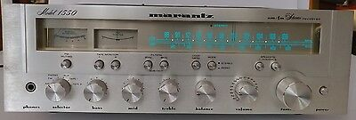 marantz 1550 am/fm stereo receiver  1978-80 Used As-Is