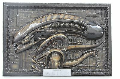 Alien hr giger wall panel