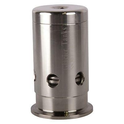 "Pressure Relief Valve | Tri Clamp 1"" - Sanitary Stainless Steel SS304 (50 Pack)"