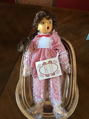 Hamilton Collection Wooden Doll 1994