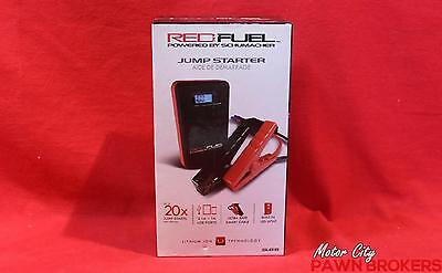 Schumacher (SL65) Red Fuel - 20x Jumps Per Charge - Portable Jump Starter NEW