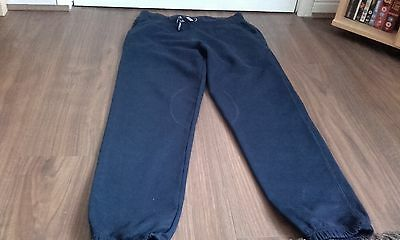 A pair of girls school track suit bottoms sixe 11-12 years