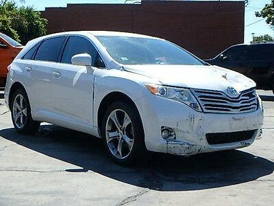 2012 Toyota Venza LE V6 2012 Toyota Venza LE FWD Wrecked Salvage Many Options Nice Color Very Spacious!