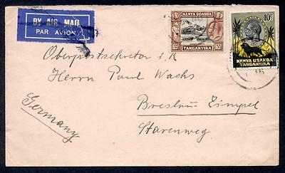 Kut 1936 Airmail To Germany