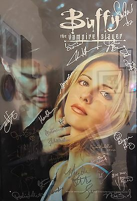 Buffy The Vampire Slayer Autographed Poster