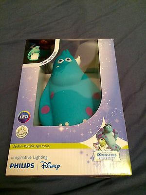Philips Disney SoftPals Monsters University *Sulley* Nightlight / Brand New