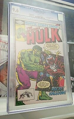 The Incredible Hulk 271 (May 1982), CGC 9.6  First Appearance Rocket Raccoon