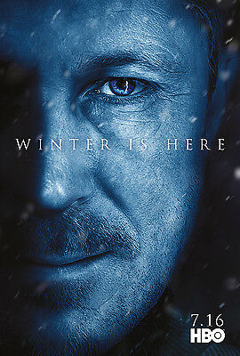 "Game of Thrones Season 7 Promo Poster HBO TV Series Art Print 13x20"" 24x36"" #7"