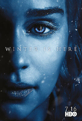"Game of Thrones Season 7 Promo Poster HBO TV Series Art Print 13x20"" 24x36"" #11"