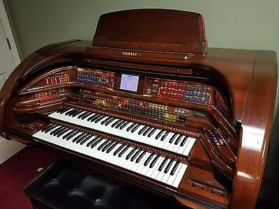 Lowrey Royale Su500 Organ W/ Matching Bench