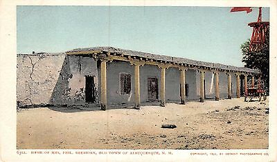 Detroit Photographic Co.~ Home of Mrs. Phil Sheridan, Albuquerque, NEW MEXICO