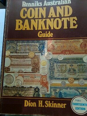 RENNIKS AUSTRALIAN COIN AND BANKNOTE GUIDE 13th Edition 1980