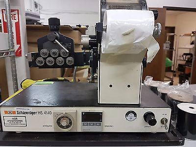 Schleuniger HS4140 Hot Stamp Cable Marking System